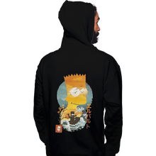 Load image into Gallery viewer, Shirts Zippered Hoodies, Unisex / Small / Black Bart Ukiyoe