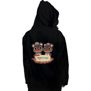 Shirts Zippered Hoodies, Unisex / Small / Black A Cage