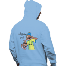Load image into Gallery viewer, Shirts Zippered Hoodies, Unisex / Small / Royal Blue Carlton And Will