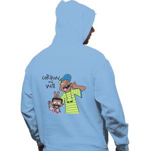 Shirts Zippered Hoodies, Unisex / Small / Royal Blue Carlton And Will