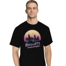 Load image into Gallery viewer, Shirts T-Shirts, Tall / Large / Black Old School Of Magic