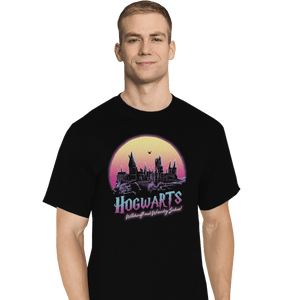 Shirts T-Shirts, Tall / Large / Black Old School Of Magic