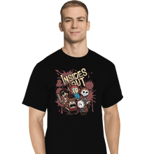 Load image into Gallery viewer, Shirts T-Shirts, Tall / Large / Black Insides Out