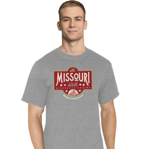 Shirts T-Shirts, Tall / Large / Sports Grey The Missouri Belle