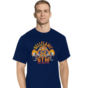 Shirts T-Shirts, Tall / Large / Navy Endeavor Gym
