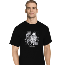 Load image into Gallery viewer, Shirts T-Shirts, Tall / Large / Black The Force Side
