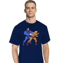 Load image into Gallery viewer, Shirts T-Shirts, Tall / Large / Navy Atomic Wedgie