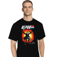Load image into Gallery viewer, Shirts T-Shirts, Tall / Large / Black GI Poe