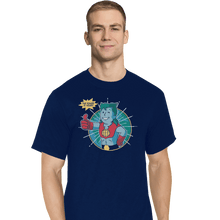 Load image into Gallery viewer, Shirts T-Shirts, Tall / Large / Navy Planet Boy