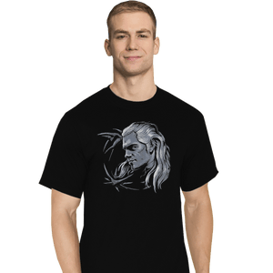 Shirts T-Shirts, Tall / Large / Black Monster Slayer