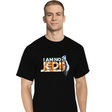 Load image into Gallery viewer, Shirts T-Shirts, Tall / Large / Black Ahsoka Tano