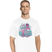 Load image into Gallery viewer, Shirts T-Shirts, Tall / Large / White A N I M E W A V E