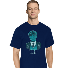 Load image into Gallery viewer, Shirts T-Shirts, Tall / Large / Navy The Leader