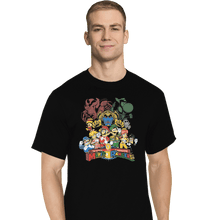 Load image into Gallery viewer, Shirts T-Shirts, Tall / Large / Black Mushroom Rangers