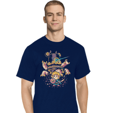 Load image into Gallery viewer, Shirts T-Shirts, Tall / Large / Navy Hero's Awakening