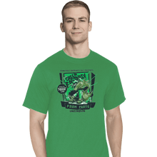 Load image into Gallery viewer, Shirts T-Shirts, Tall / Large / Athletic grey The Green Bastard