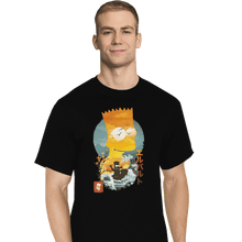 Load image into Gallery viewer, Shirts T-Shirts, Tall / Large / Black Bart Ukiyoe