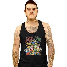 Load image into Gallery viewer, Shirts Tank Top, Unisex / Small / Black Mushroom Rangers