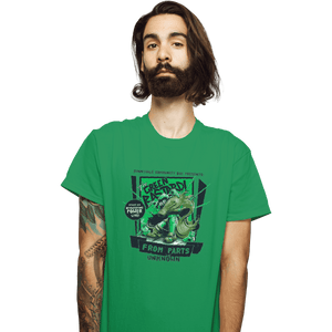 Shirts T-Shirts, Unisex / Small / Irish Green The Green Bastard