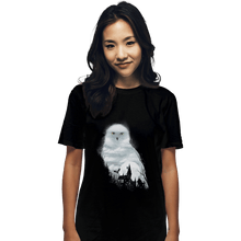 Load image into Gallery viewer, Shirts T-Shirts, Unisex / Small / Black Magical Owl