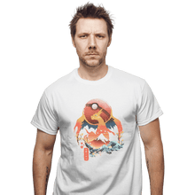Load image into Gallery viewer, Shirts T-Shirts, Unisex / Small / White Fire Ninja