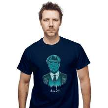 Load image into Gallery viewer, Shirts T-Shirts, Unisex / Small / Navy The Leader