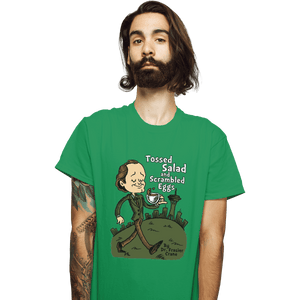 Shirts T-Shirts, Unisex / Small / Irish Green Tossed Salad And Scrambled Eggs