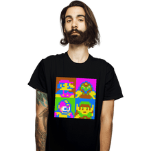 Load image into Gallery viewer, Shirts T-Shirts, Unisex / Small / Black Pop NES