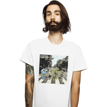 Load image into Gallery viewer, Shirts T-Shirts, Unisex / Small / White Flabby Road