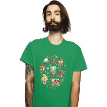 Load image into Gallery viewer, Shirts T-Shirts, Unisex / Small / Irish Green Tarantula Island