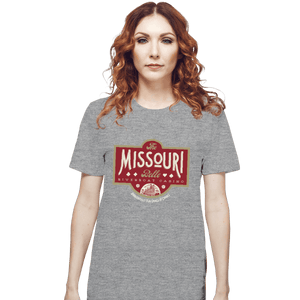Shirts T-Shirts, Unisex / Small / Sports Grey The Missouri Belle