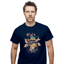 Load image into Gallery viewer, Shirts T-Shirts, Unisex / Small / Navy Hero's Awakening