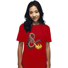 Load image into Gallery viewer, Secret_Shirts T-Shirts, Unisex / Small / Red Bone Dragon Secret Sale