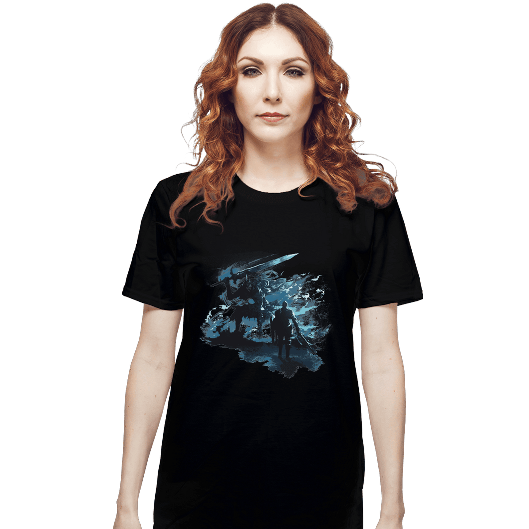 Shirts T-Shirts, Unisex / Small / Black Abysswalker