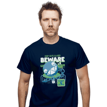 Load image into Gallery viewer, Shirts T-Shirts, Unisex / Small / Navy Beware Of Chomp Chomp