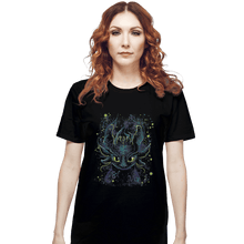 Load image into Gallery viewer, Shirts T-Shirts, Unisex / Small / Black Fireflies