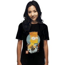 Load image into Gallery viewer, Shirts T-Shirts, Unisex / Small / Black Bart Ukiyoe