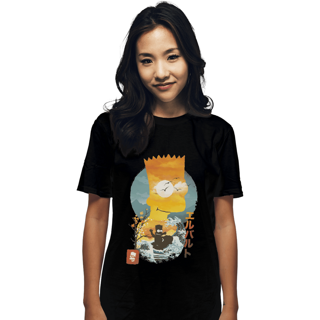 Shirts T-Shirts, Unisex / Small / Black Bart Ukiyoe