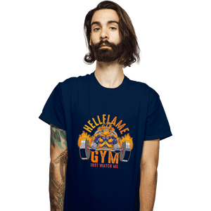 Shirts T-Shirts, Unisex / Small / Navy Endeavor Gym