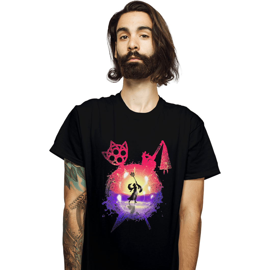 Shirts T-Shirts, Unisex / Small / Black Dance Of The Summoner