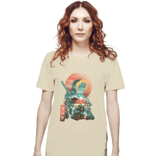 Load image into Gallery viewer, Shirts T-Shirts, Unisex / Small / Natural Ukiyo Ocarina