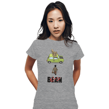 Load image into Gallery viewer, Shirts Fitted Shirts, Woman / Small / Sports Grey Akira Bean