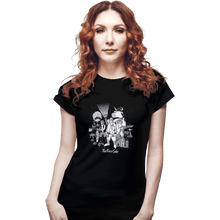Load image into Gallery viewer, Shirts Fitted Shirts, Woman / Small / Black The Force Side