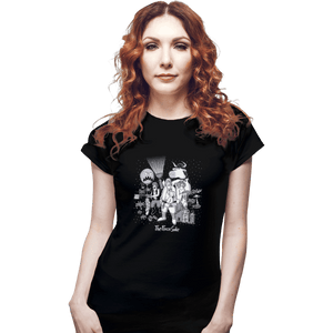 Shirts Fitted Shirts, Woman / Small / Black The Force Side
