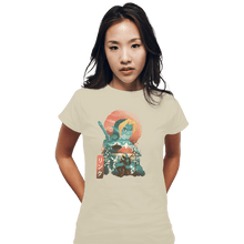 Load image into Gallery viewer, Shirts Fitted Shirts, Woman / Small / White Ukiyo Ocarina