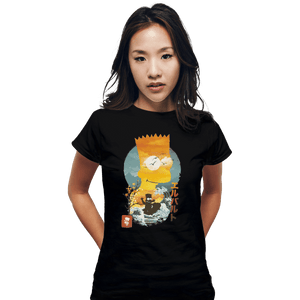 Shirts Fitted Shirts, Woman / Small / Black Bart Ukiyoe