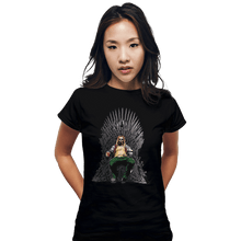 Load image into Gallery viewer, Shirts Fitted Shirts, Woman / Small / Black God Of Thrones