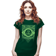 Load image into Gallery viewer, Shirts Fitted Shirts, Woman / Small / Irish Green Earth Kindgom