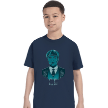 Load image into Gallery viewer, Shirts T-Shirts, Youth / XL / Navy The Leader