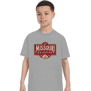 Shirts T-Shirts, Youth / XL / Sports Grey The Missouri Belle